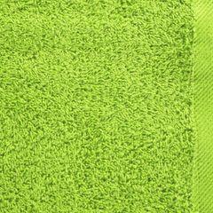 Ręcznik bawełniany gładki zielony 50x90 cm - 50 X 90 cm - zielony 4