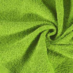 Ręcznik bawełniany gładki zielony 50x90 cm - 50 X 90 cm - zielony 1