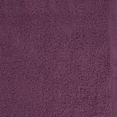 GŁADKI 2 ŚLIWKOWY RĘCZNIK KĄPIELOWY Z BAWEŁNY 50x90 cm EUROFIRANY - 50 X 90 cm - fioletowy 4