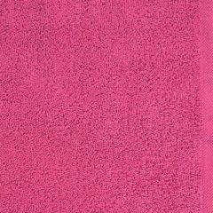 Ręcznik bawełniany gładki różowy 50x90 cm - 50 X 90 cm - różowy 8