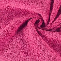 Ręcznik bawełniany gładki różowy 50x90 cm - 50 X 90 cm - różowy 9