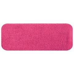 Ręcznik bawełniany gładki różowy 50x90 cm - 50 X 90 cm - różowy 2
