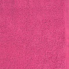 Ręcznik bawełniany gładki różowy 50x90 cm - 50 X 90 cm - różowy 4