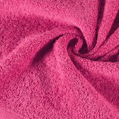 Ręcznik bawełniany gładki różowy 50x90 cm - 50 X 90 cm - różowy 5