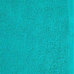 Ręcznik bawełniany gładki turkusowy 50x90 cm - 50 X 90 cm - turkusowy 8