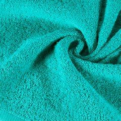 Ręcznik bawełniany gładki turkusowy 50x90 cm - 50 X 90 cm - turkusowy 9