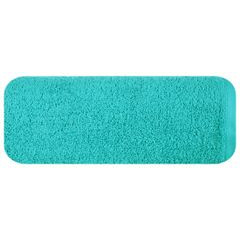 Ręcznik bawełniany gładki turkusowy 50x90 cm - 50 X 90 cm - turkusowy 2