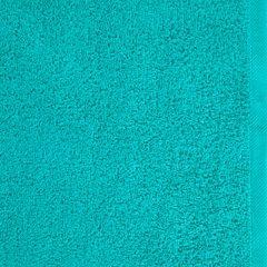 Ręcznik bawełniany gładki turkusowy 50x90 cm - 50 X 90 cm - turkusowy 4