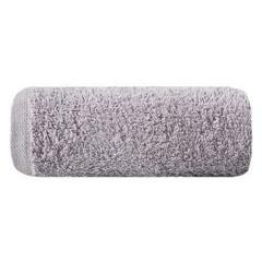 Gładki ręcznik kąpielowy srebrny 50x90 cm - 50 X 90 cm - srebrny 1