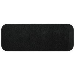 Ręcznik bawełniany gładki czarny 50x90 cm - 50 X 90 cm - czarny 2