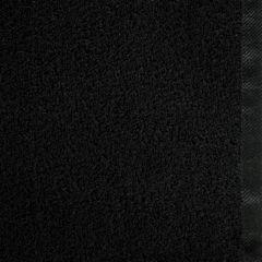 Ręcznik bawełniany gładki czarny 50x90 cm - 50 X 90 cm - czarny 4