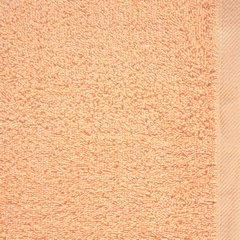 Gładki ręcznik kąpielowy morelowy 70x140 cm - 70 X 140 cm - pomarańczowy 8