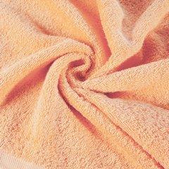 Gładki ręcznik kąpielowy morelowy 70x140 cm - 70 X 140 cm - pomarańczowy 9