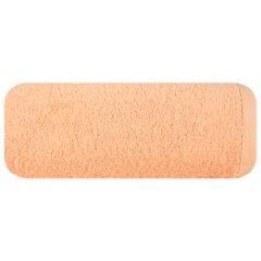 Gładki ręcznik kąpielowy morelowy 70x140 cm - 70 X 140 cm - pomarańczowy 2