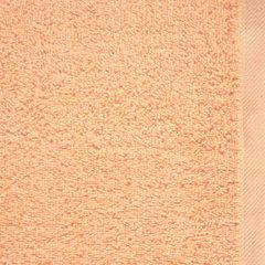 Gładki ręcznik kąpielowy morelowy 70x140 cm - 70 X 140 cm - pomarańczowy 4