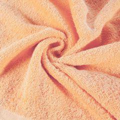 Gładki ręcznik kąpielowy morelowy 70x140 cm - 70 X 140 cm - pomarańczowy 5