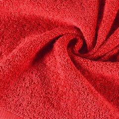 Ręcznik bawełniany gładki czerwony 50x90 cm - 50x90 - czerwony 3
