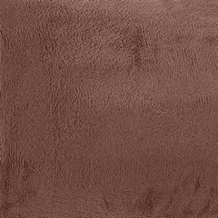Brązowy GŁADKI KOC SIMPLE z mikrofibry 150x200 cm minimalistyczny - 150 X 200 cm - brązowy 6