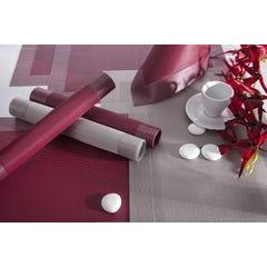 Fioletowa mata stołowa struktura tkaniny 30x45 cm - 30 X 45 cm - fioletowy 3