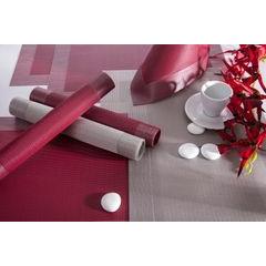 Fioletowa mata stołowa struktura tkaniny 30x45 cm - 30 X 45 cm - fioletowy 2