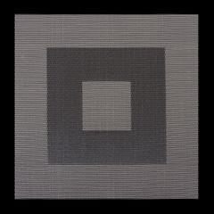 Kwadratowa podkładka stołowa czarna 35x35 cm - 35 X 35 cm - czarny/szary 1