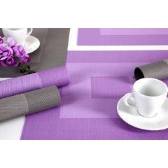 Kwadratowa podkładka stołowa czarna 35x35 cm - 35 X 35 cm - czarny/szary 4