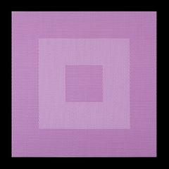 Kwadratowa podkładka stołowa czarna 35x35 cm - 35 X 35 cm - czarny/szary 2