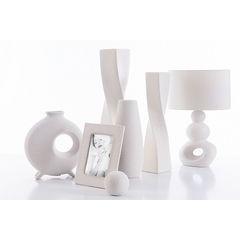 Ramka dekoracyjna ceramiczna krem 25 x 19 cm - 25 X 19 cm - ecru 2