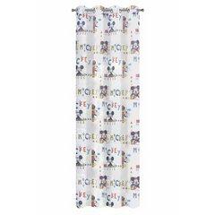 Zasłona dziecięca motyw myszki mickey 140x245 przelotki - 140 X 250 cm - niebieski 4