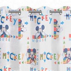 Zasłona dziecięca motyw myszki mickey 140x245 przelotki - 140 X 250 cm - niebieski 3