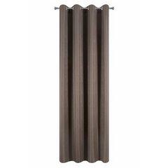 Zasłona subtelny marmurkowy wzór brązowa 140x250cm - 140 X 250 cm - brązowy 5