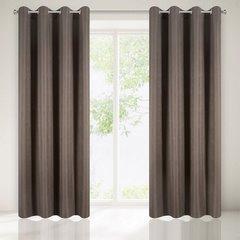 Zasłona subtelny marmurkowy wzór brązowa 140x250cm - 140x250 - brązowy 1