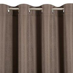 Zasłona subtelny marmurkowy wzór brązowa 140x250cm - 140 X 250 cm - brązowy 6