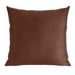 Poszewka dekoracyjna na poduszkę  50 x 60 Kolor Brązowy - 50x60 - brązowy 1