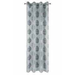 Zasłona cieniowane koła odcienie szrości przelotki 140x250cm - 140 X 250 cm - stalowy 5