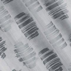 Zasłona cieniowane koła odcienie szrości przelotki 140x250cm - 140 X 250 cm - stalowy 2
