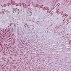 Talerz dekoracyjny różowe szkło  - ∅ 32 X 3 cm - różowy 5