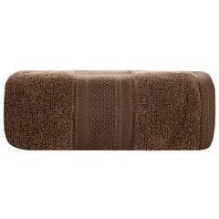 Ręcznik szybkoschnący klasyczny fason brązowy 50x90 cm - 50 X 90 cm - brązowy 1