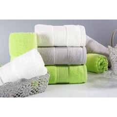 Ręcznik szybkoschnący klasyczny fason brązowy 50x90 cm - 50 X 90 cm - brązowy 2