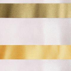Zasłona półprzejrzysta na przelotkach 140x250 cm - 140 X 250 cm - oliwkowy/pomarańczowy 2