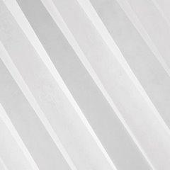 LUCY BIAŁA DELIKATNA FIRANA Z GŁADKIEGO WOALU 300x160 cm NA TAŚMIE - 300 X 160 cm - biały 2