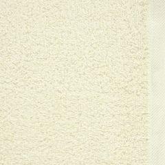 Gładki ręcznik kąpielowy kremowy 100x150 cm - 100 X 150 cm - kremowy 8