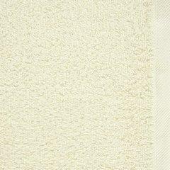 Gładki ręcznik kąpielowy kremowy 100x150 cm - 100 X 150 cm - kremowy 9