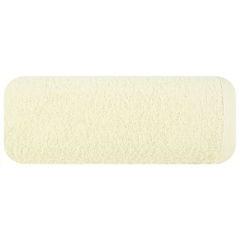 Gładki ręcznik kąpielowy kremowy 100x150 cm - 100 X 150 cm - kremowy 2