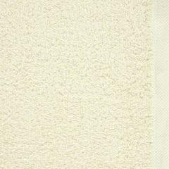 Gładki ręcznik kąpielowy kremowy 100x150 cm - 100 X 150 cm - kremowy 4
