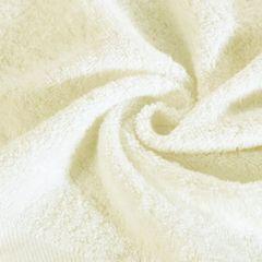 Gładki ręcznik kąpielowy kremowy 100x150 cm - 100 X 150 cm - kremowy 5