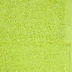 GŁADKI 2 JASNY ZIELONY RĘCZNIK KĄPIELOWY Z BAWEŁNY 30x50 cm EUROFIRANY - 30 X 50 cm - zielony 8