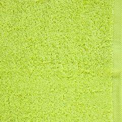 GŁADKI 2 JASNY ZIELONY RĘCZNIK KĄPIELOWY Z BAWEŁNY 30x50 cm EUROFIRANY - 30 X 50 cm - zielony 4