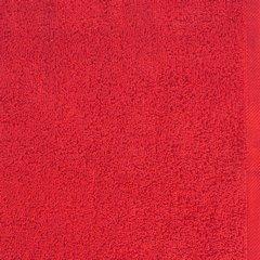 Gładki ręcznik kąpielowy czerwony 100x150 cm - 100 X 150 cm - czerwony 8
