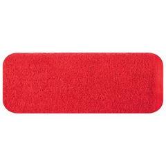 Gładki ręcznik kąpielowy czerwony 100x150 cm - 100 X 150 cm - czerwony 2